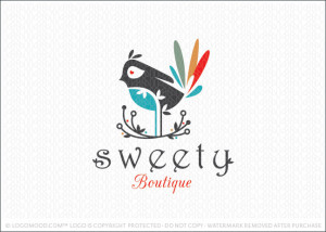 Sweety Bird Logo For Sale