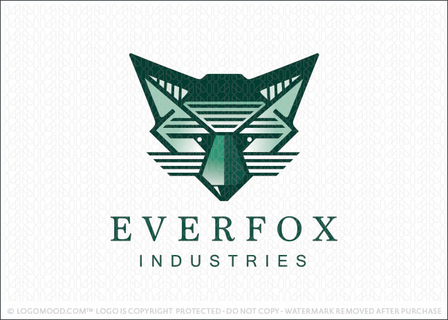 Fox Face Company Logo For Sale