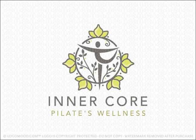 Pilates yoga natural wellness Company Logo For Sale