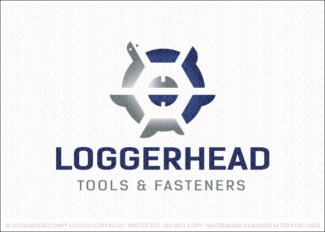 Loggerhead Turtle Fasteners Company Logo For Sale