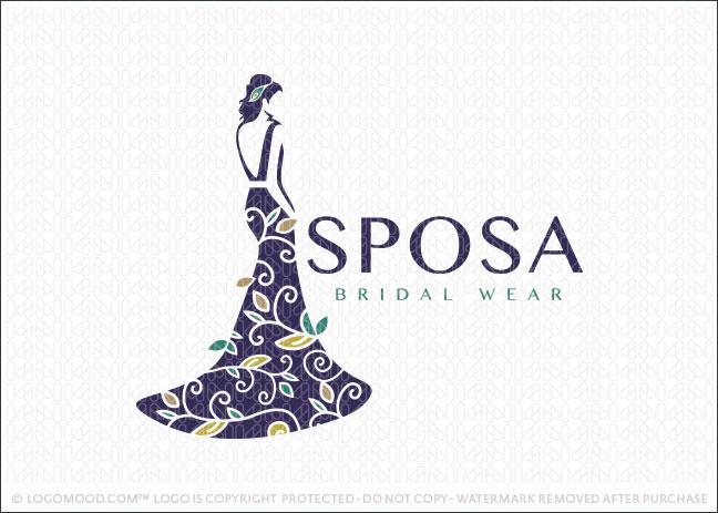 Readymade Logos For Sale Sposa Bridal Readymade Logos