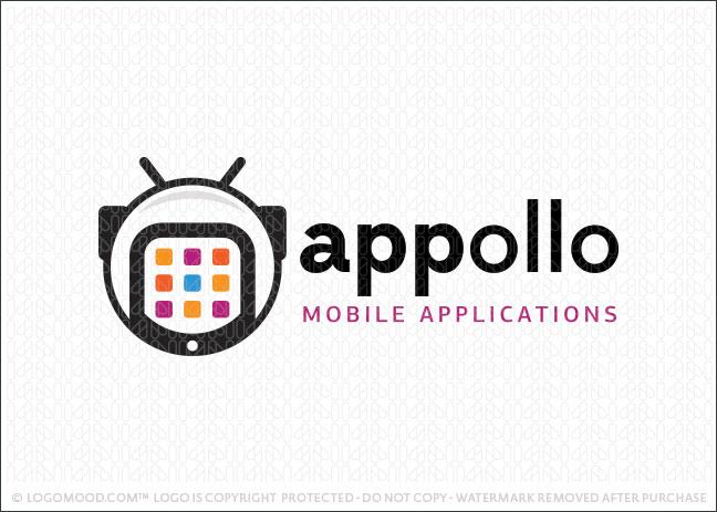 Astronaut Apollo Company Logo For Sale