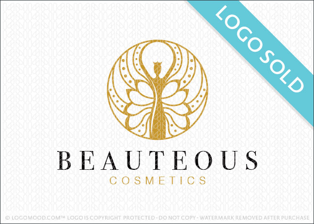 Beauteous Woman Logo Sold