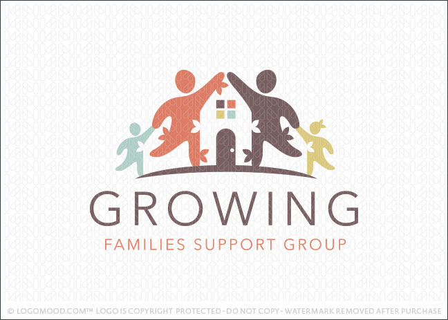 Family Home Business Logo For Sale