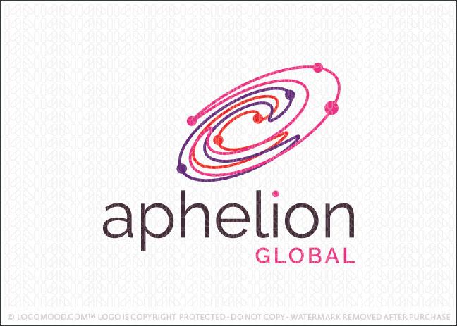 Aphelion Galaxy Company Logo For Sale