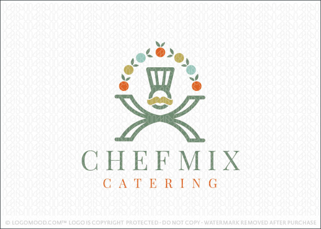 Chef Mix Company Logo For Sale