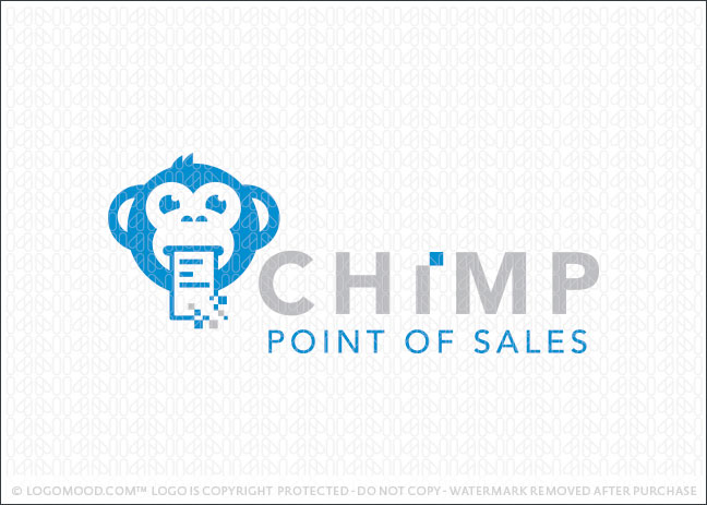 Chimp Point of Sales Company Logo For Sale