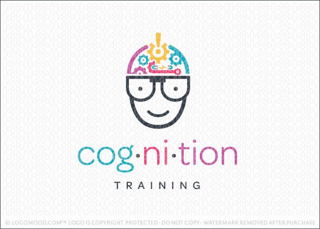 Cognition Nerd Gear Business Logo For Sale
