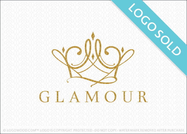 readymade logos for sale glamour crown readymade logos