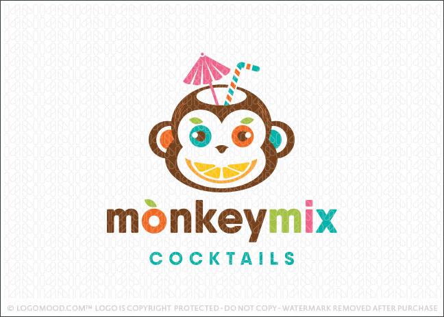 Fruity Monkey Company Logo For Sale