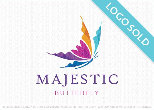 Majestic Butterfly Logo Sold