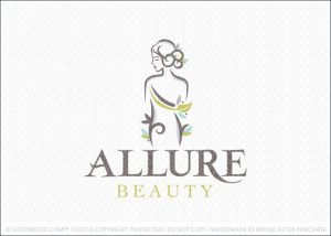 Beautiful Woman Spa Beauty Logo For Sale