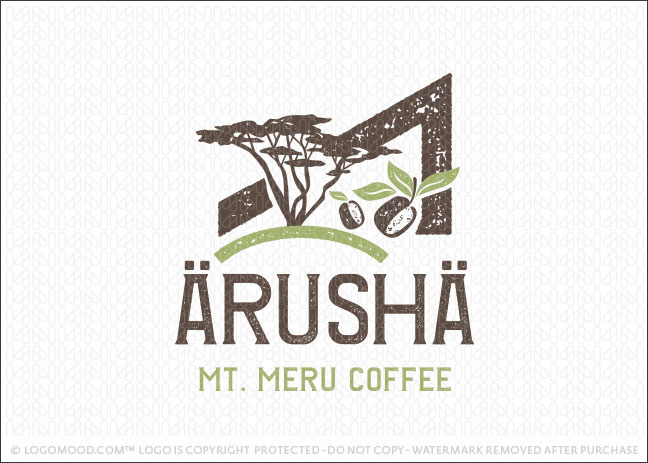 Arusha Coffee Logo For Sale