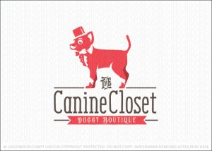 Chihuahua Dog Tuxedo Clothing Logo For Sale