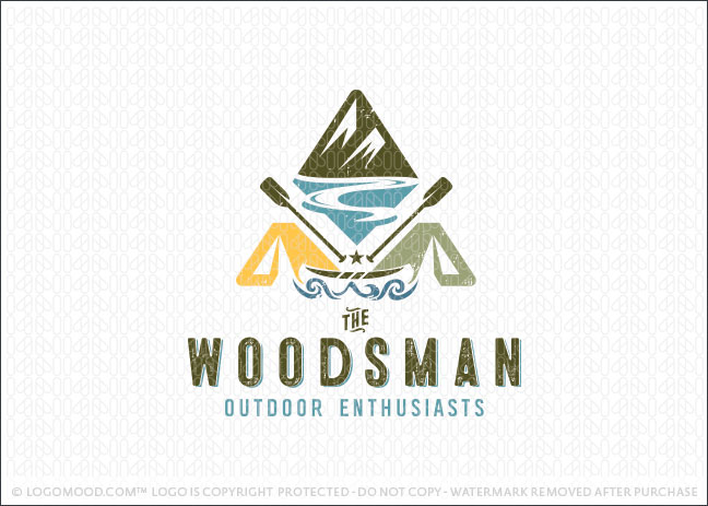 Outdoors Adventure Camping Logo For Sale