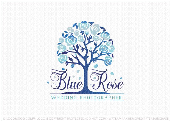 Blue Rose Tree