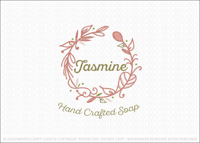 readymade logos for sale jasmine soaps | readymade logos for sale