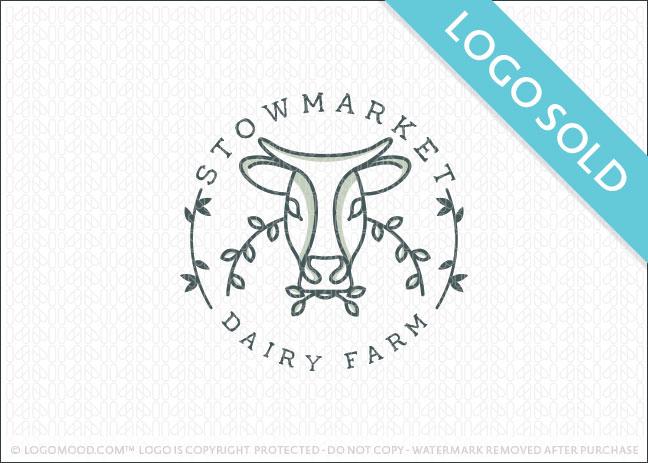 Stow market Dairy Farm Logo Sold