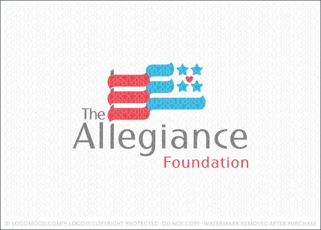 United States Flag Foundation Logo For Sale