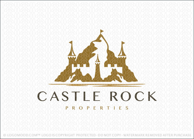 Mountain Summit Castle Logo For Sale