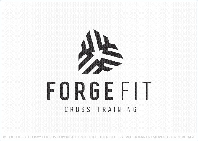 Forge Fit Cross Training | Readymade Logos for Sale