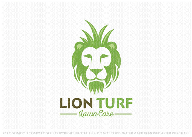 readymade logos for sale lion turf lawn care readymade logos for sale rh logomood com lawn care logo design lawn care logo design free