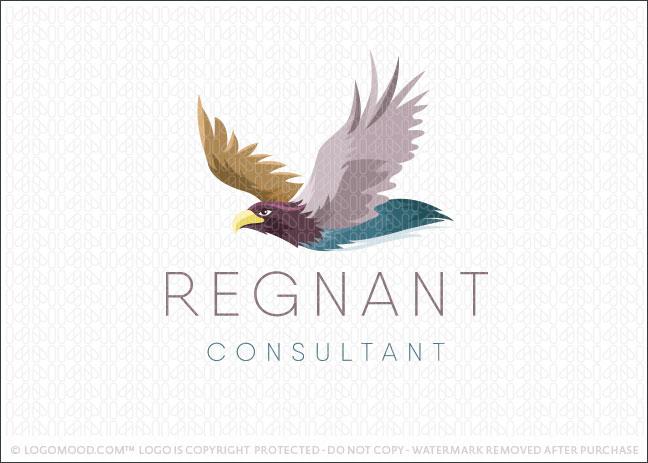 Flying Eagle Business Logo For Sale