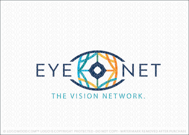 Eye Sight Network Business Logo For Sale