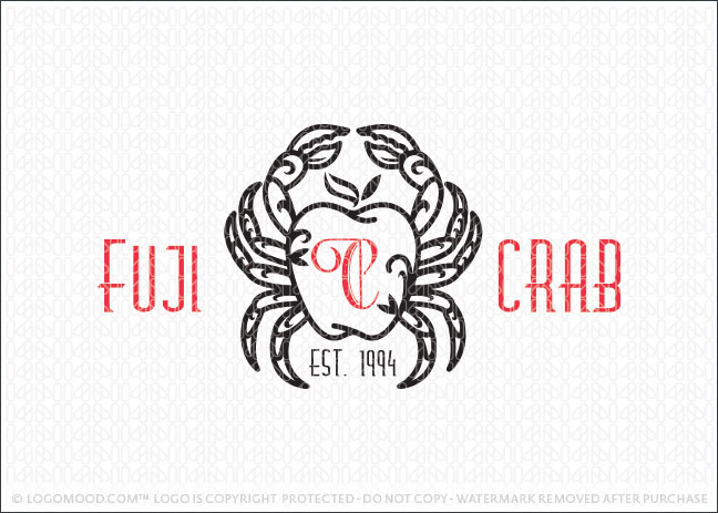 Crab Apple Business Logo For Sale