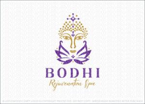 Lotus Buddha Spa Logo For Sale