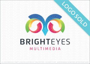 Bright Eyes Owl Logo Sold