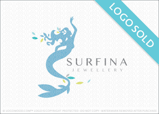 Surfina Mermaid Logo Sold