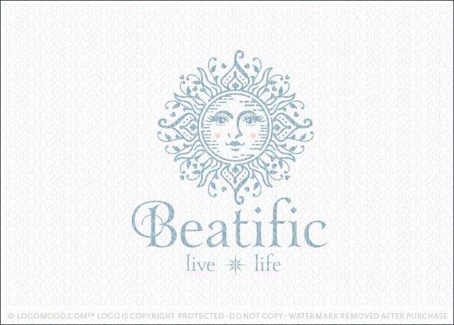 Celestial Sun Goddess Woman Company Logo