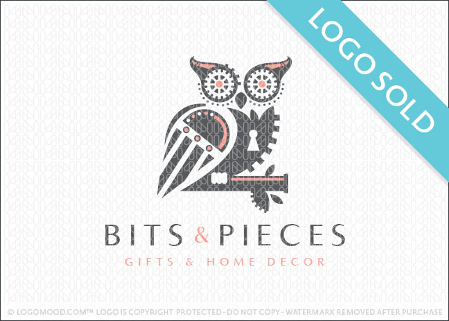 Bits & Pieces Owl Logo Sold