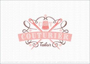 Custom Tailoring Vintage Crest Logo For Sale