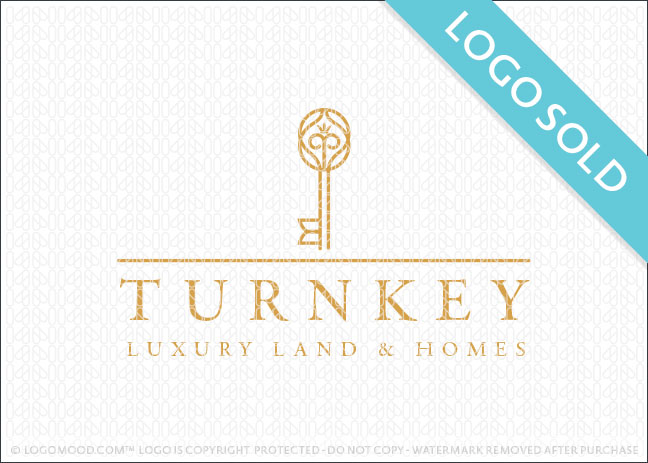 Turnkey Luxury Land & Homes Logo Sold