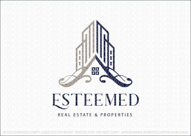 Commercial & Real Estate Properties Logo For Sale