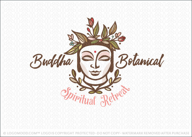 Buddha Botanica Garden Logo For Sale