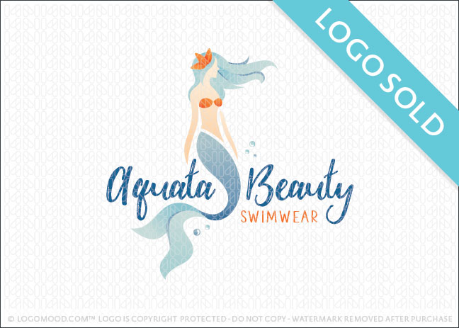 Aquata Beauty Logo Sold
