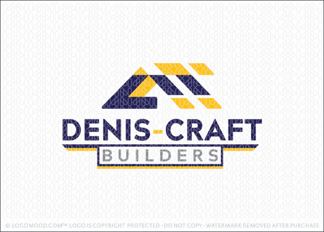 Denis Craft Builders Logo For Sale