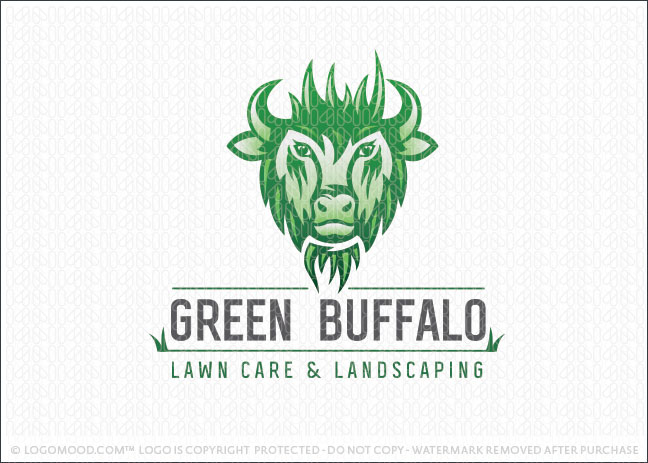 Green Buffalo Logo For Sale