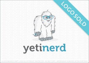 Yeti Nerd Learning Logo Sold