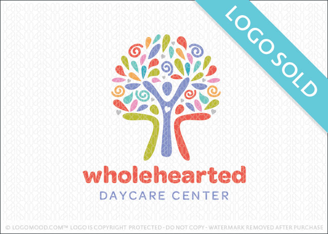 Whole Hearted Tree Logo Sold