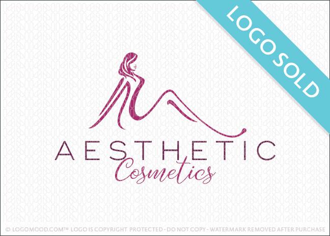 Aesthetic Cosmetics Logo Sold