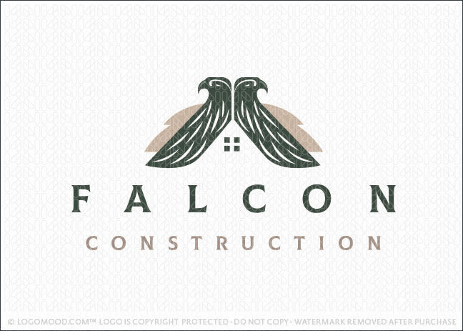 Falcon Home Real Estate ConstructionLogo For Sale