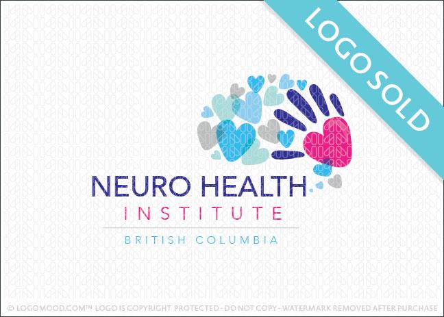 Neuro Health Brain Logo Sold