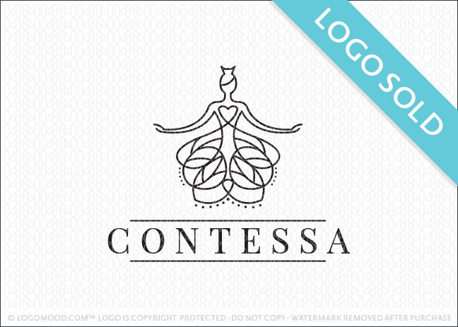Beauty Woman Contessa Logo Sold