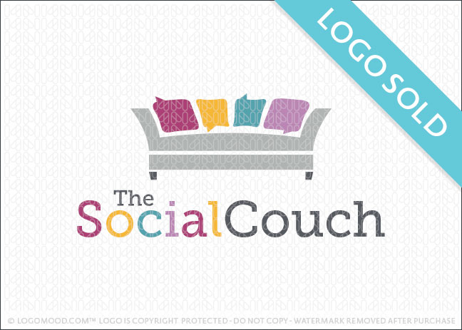 The Social Couch Logo Sold