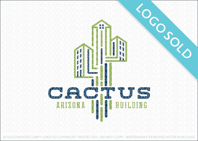 Cactus Arizona Building Logo Sold
