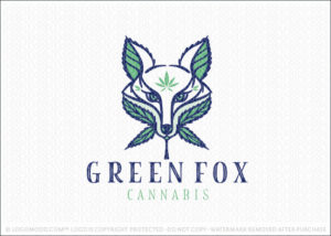 Green Cannabis Fox